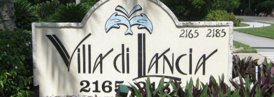 Villa di Lancia Sign